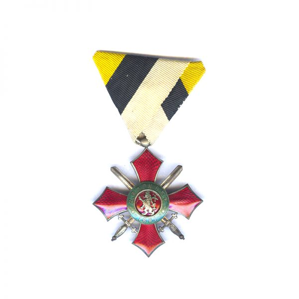Order of Military Merit 1891 4th Class no Crown 	(L28258)  N.E.F. £120 1