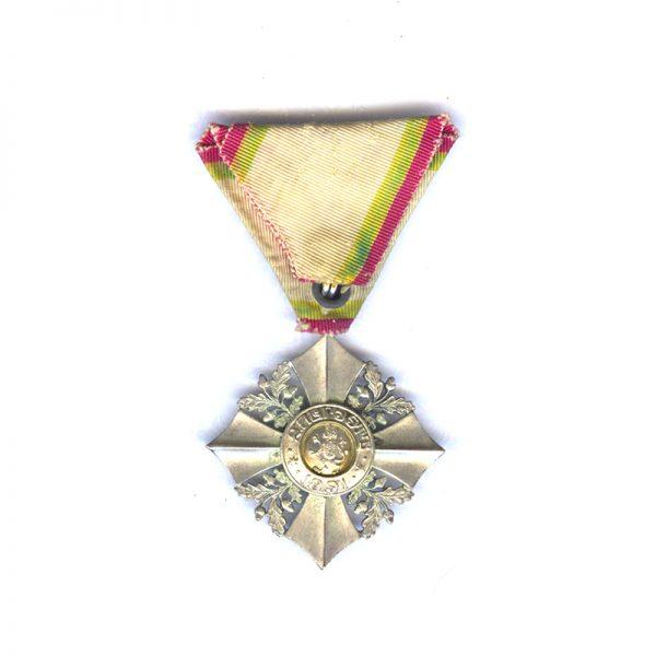 Order of Civil Merit Silver Merit Cross(L28259)  G.V.F. £55 2