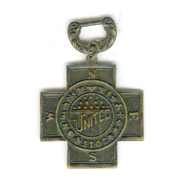 Spanish War Veterans 1889-1902 cross only (L3819)  G.V.F.  £30 1