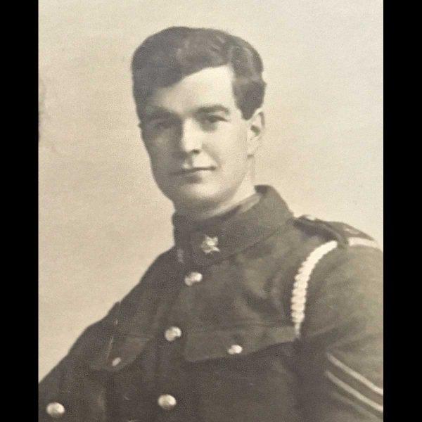 DCM Trio, Canadian Inf & 2nd Lieut RFC Pilot 1 Kill 2