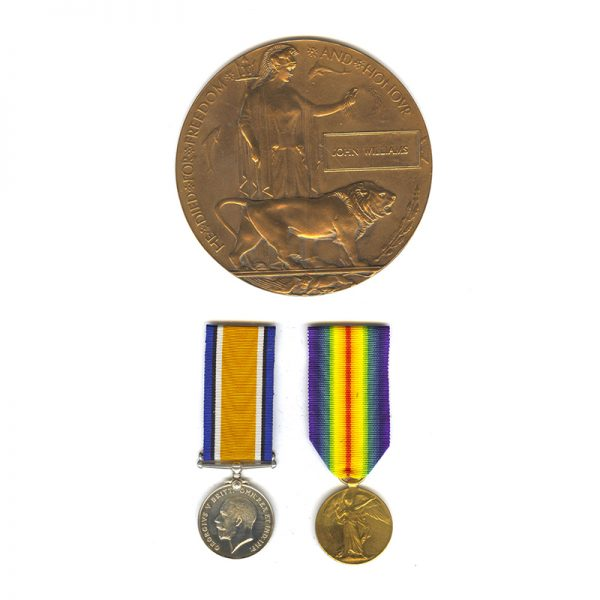 British War Medal and Victory Medal 1