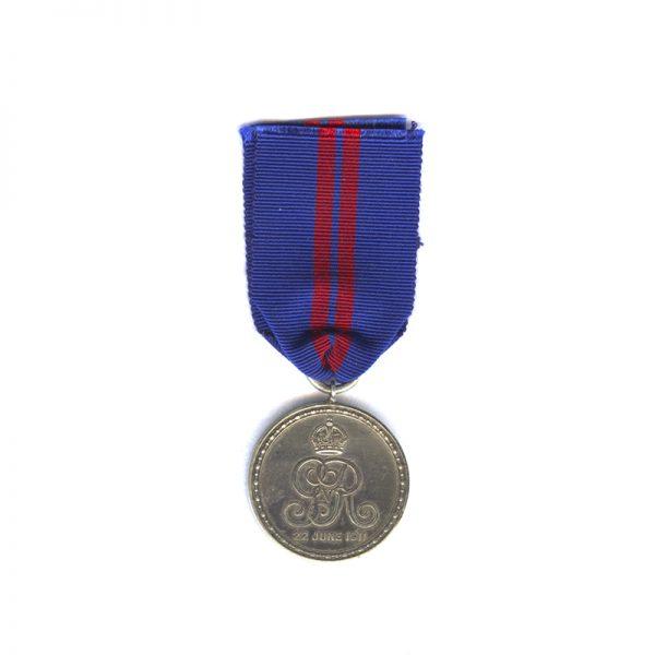 1911 Coronation Medal of King George V 2