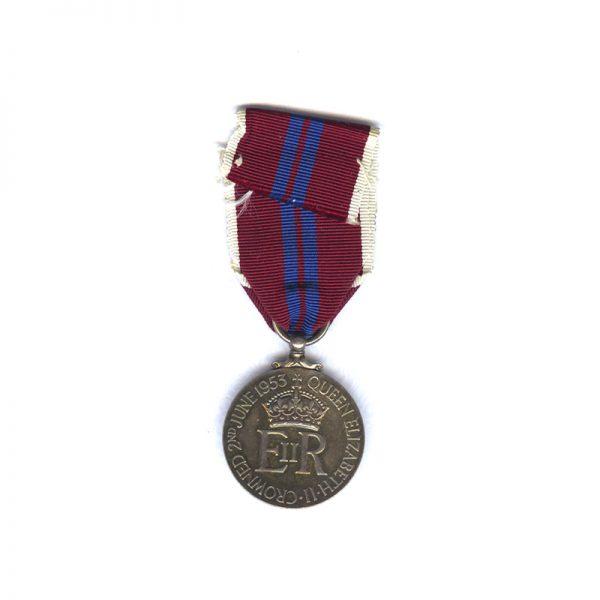 Coronation Medal for 1953 2