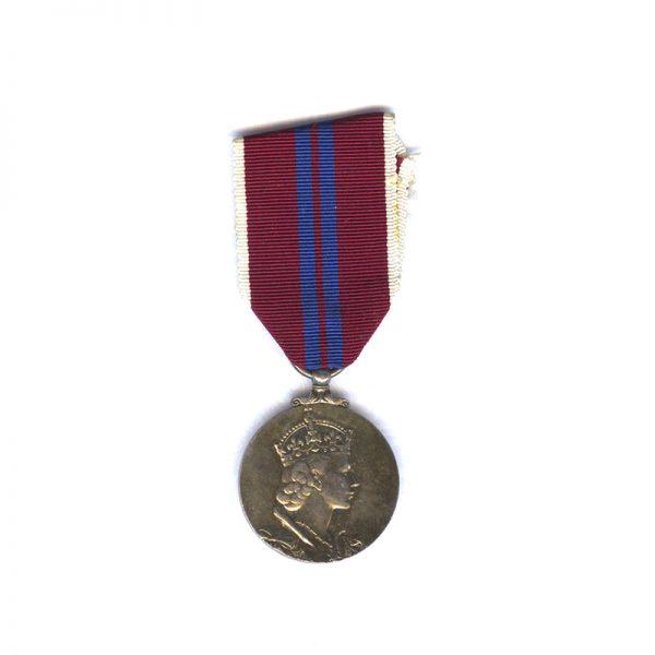 Coronation Medal for 1953 1