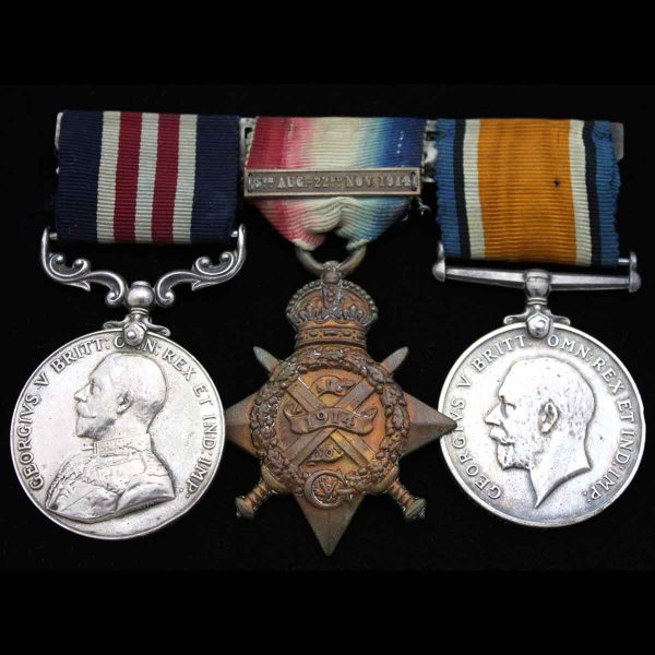 Military Medal 6th Dragoon Guards 1