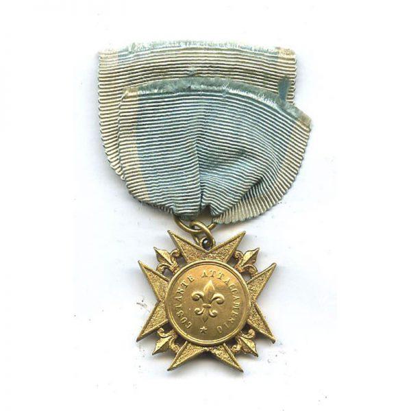 Sicily  Medal of  Honour  1816 in gold 2