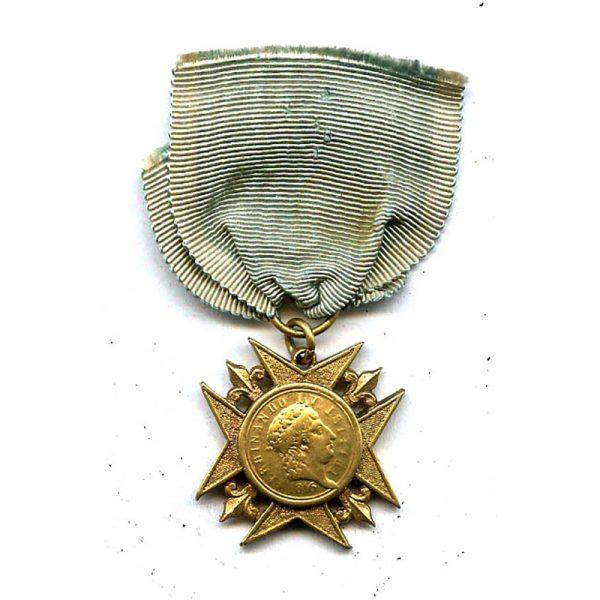 Sicily  Medal of  Honour  1816 in gold 1
