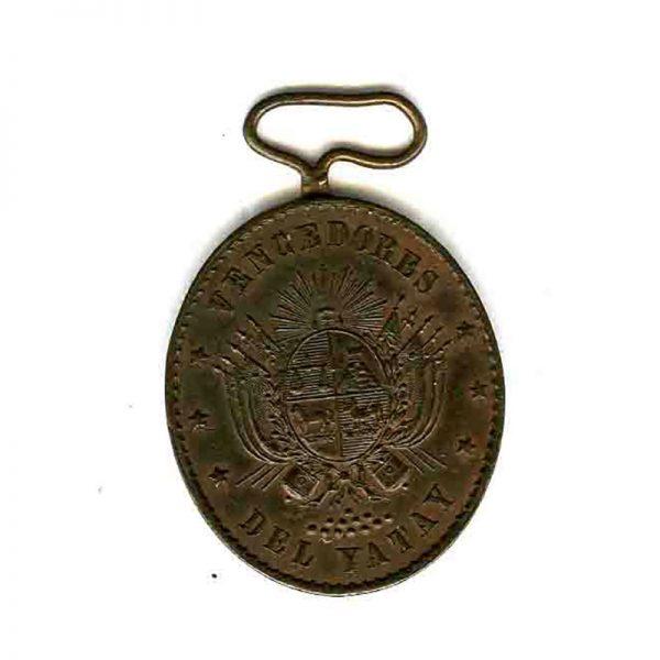 Yatay medal 1865 bronze (n.r.) 1