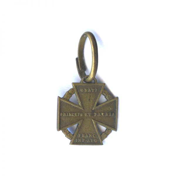Cannon Cross 1813-1814 (n.r.) one side traces of original lacquer (L19710)  V.F... 2