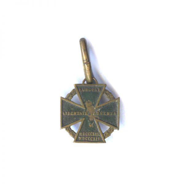 Cannon Cross 1813-1814 (n.r.) one side traces of original lacquer (L19710)  V.F... 1