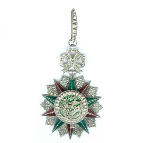 Order of Nichan Iftikhar Commanders neck badge Mohammed El Naceur 1906-1922 heavy... 1