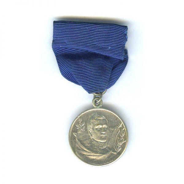 Commemorative medal for San Martin 1924 silver (L22664)  N.E.F. £35 1