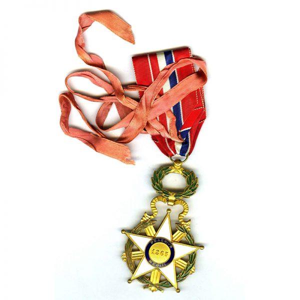 Order of National Merit  Commander neck badge with full neck ribbon(L23664... 2