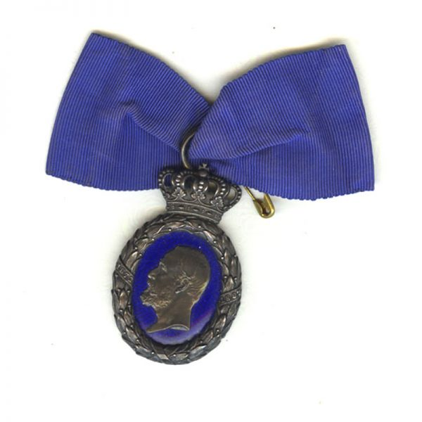 Oscar II 1897 Jubilee medal to members of the Royal Household 1