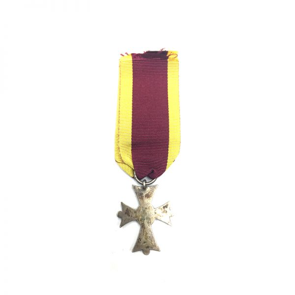Order of Henry the Lion silver merit cross replacement ribbon 2