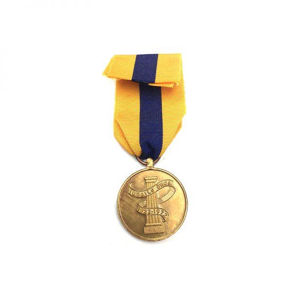 Garda Siochana Jubilee medal 1922-72(L27371)  N.E.F. £65 2