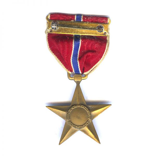 Bronze  Star  older issue with slot broach	(L27542)  N.E.F. £30 2
