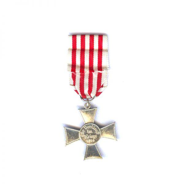 Bremen Cross silvered 2