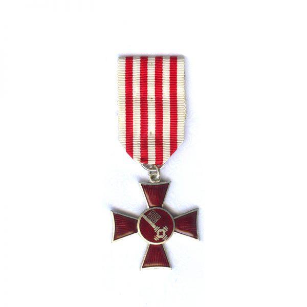 Bremen Cross silvered 1