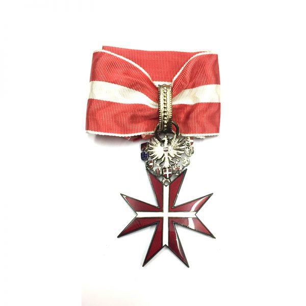 Republic Order of Merit Type II 1952 Commander  neck badge  superb heavy... 1