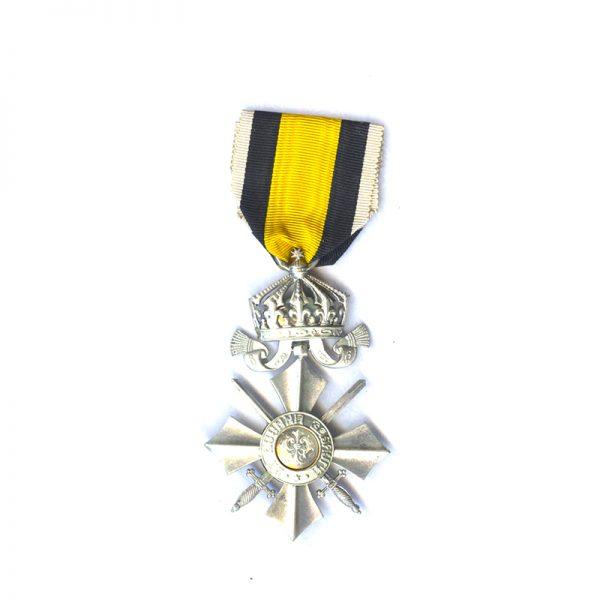 Order of Military Merit 1891 Silver Merit Cross 1