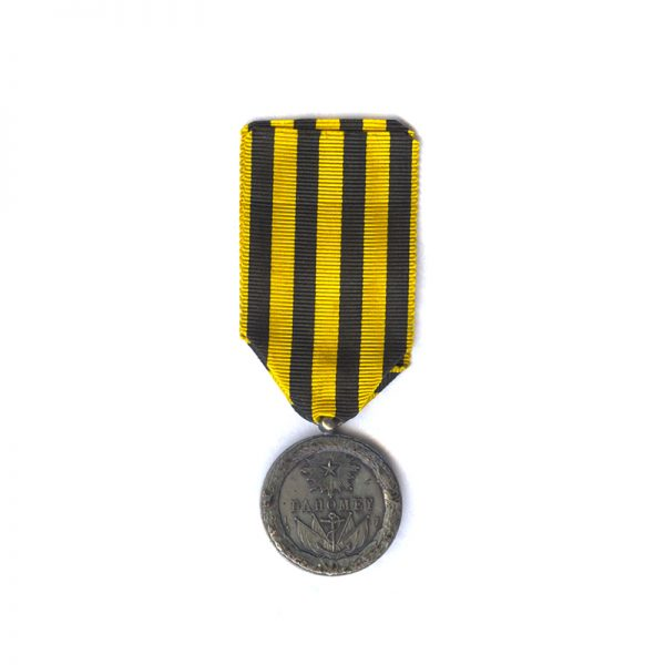 Dahomey campaign Medal 1892  type with ball suspender(L28347)  N.E.F. £125 2