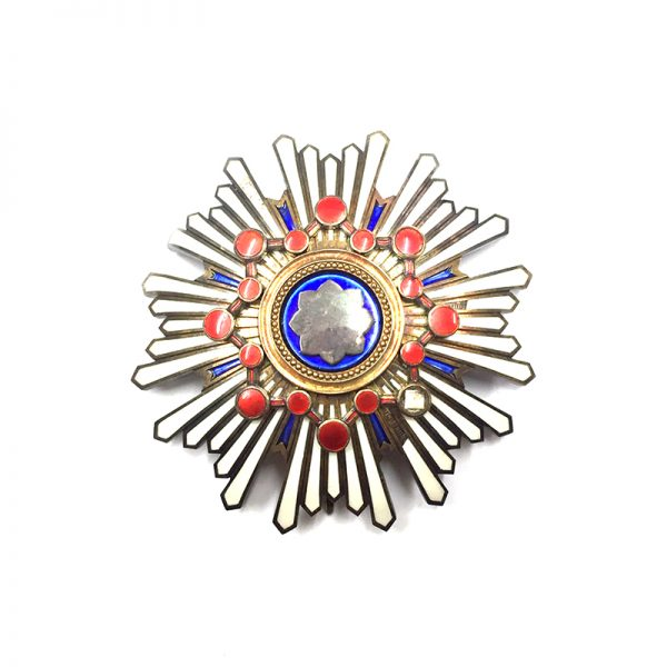 Order of the Sacred Treasure Grand Cross breast star 1