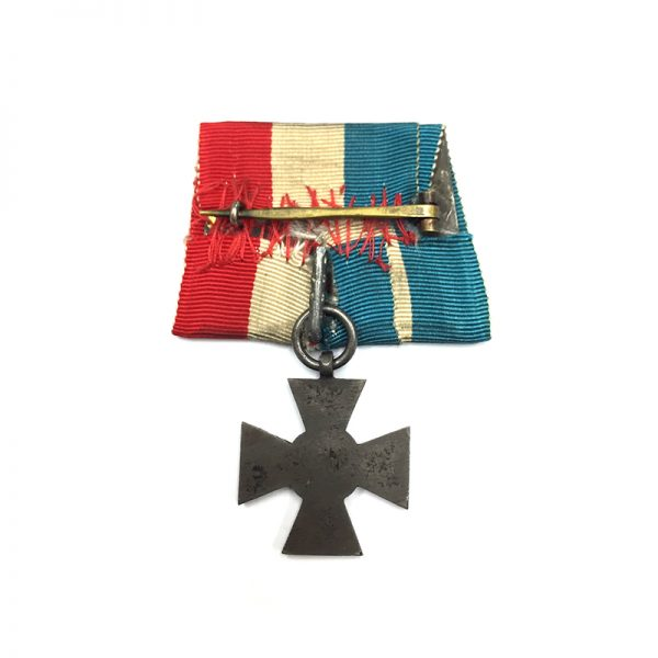 Schleswig-Holstein, Iron Merit Cross for Army 1848-1849 2