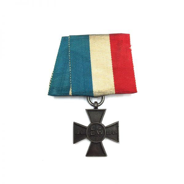 Schleswig-Holstein, Iron Merit Cross for Army 1848-1849 1