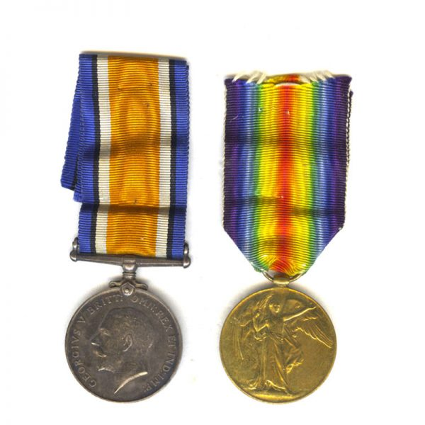 British War Medal and Victory 1