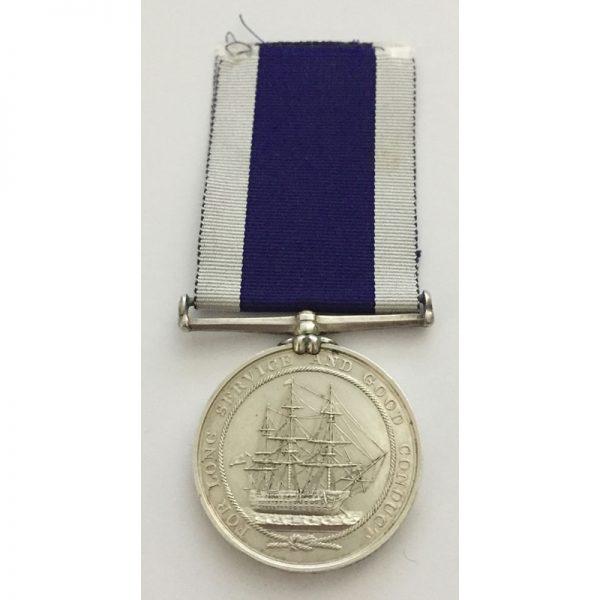 Royal Navy Long Service & Good Conduct 2