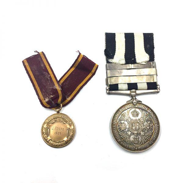 Order of St. John London Midland Scottish Railways Gold Medal (9ct hallmarked... 2