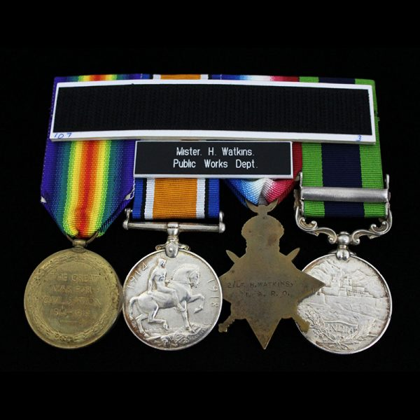 India General Service Medal 1908 2