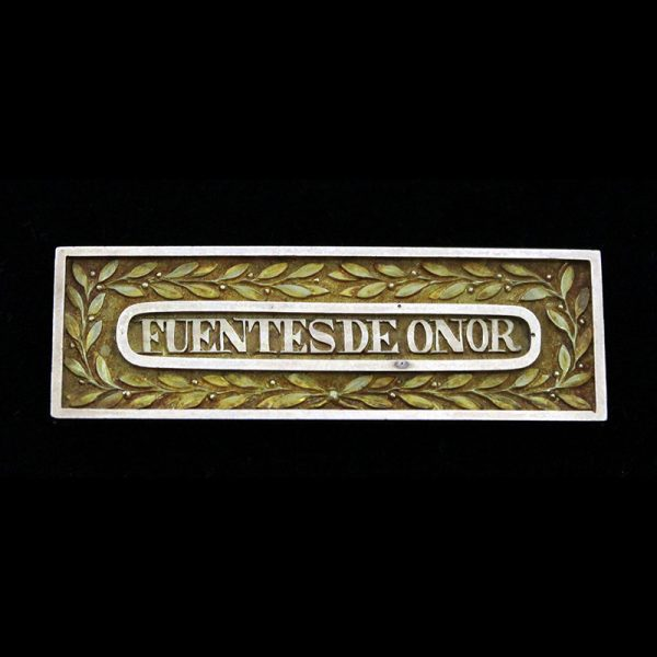 Fuentes De Onor' an original clasp for the Peninsular Army Gold Medal... 1