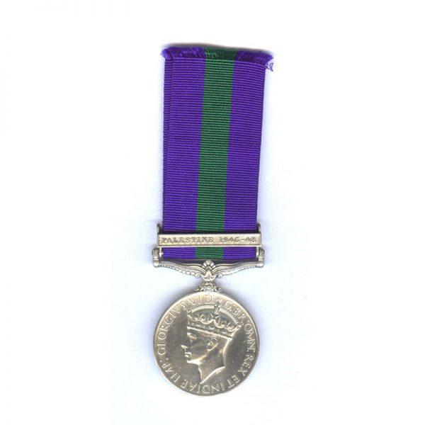 General Service Medal (GVI) 1
