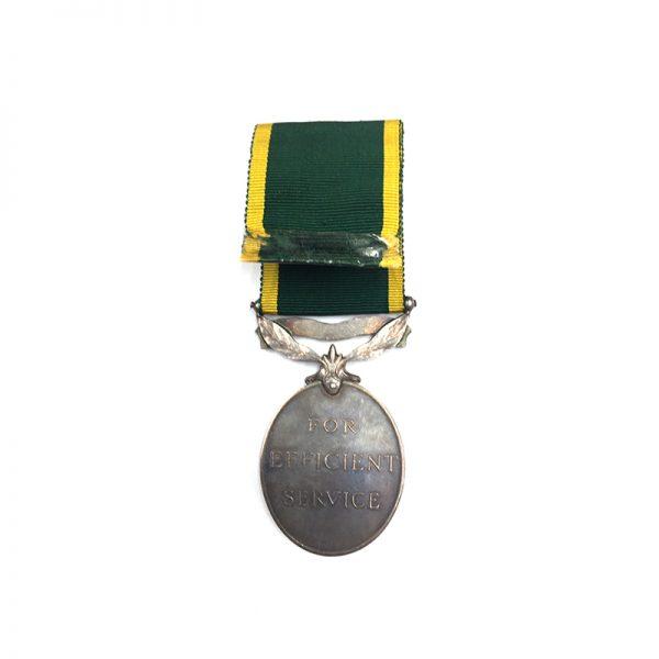 Efficiency Medal bar India Railway 2