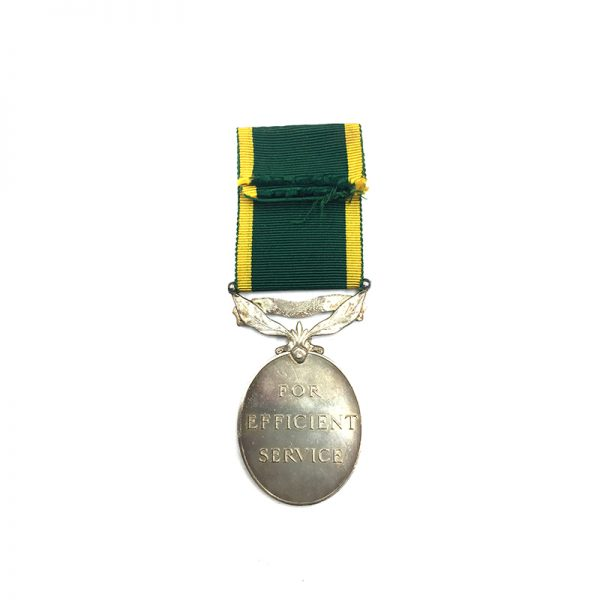Efficiency Medal EIIR R.A. 2