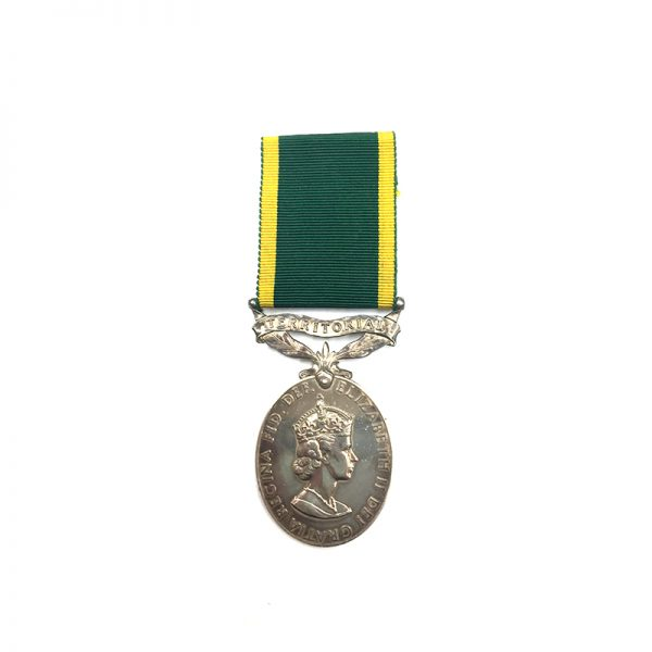 Efficiency Medal EIIR R.A. 1