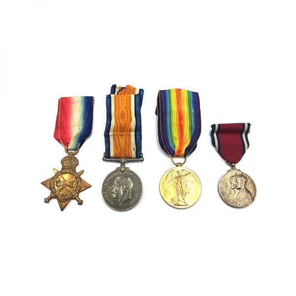 1914-15 Bilingual Trio to Capt Baber SAMC 1