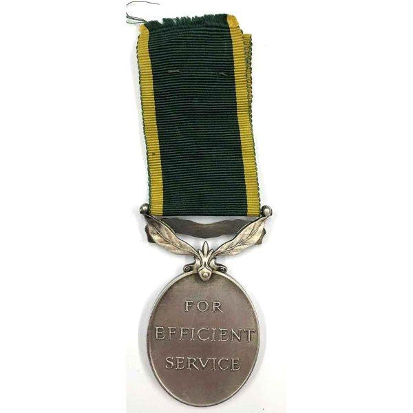 Efficiency Medal Royal Military Police 2