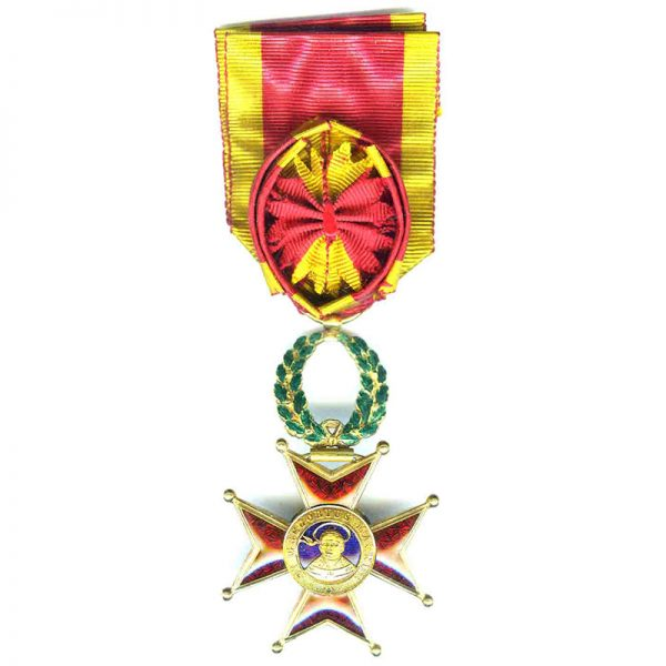 Order of  St. Gregory Officer early 1st type in gold   circa 1850 1