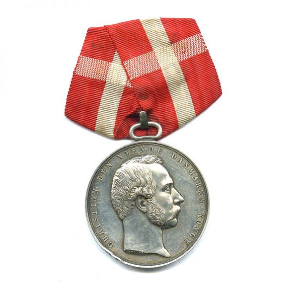 Medal for Saving Life from Drowning 1