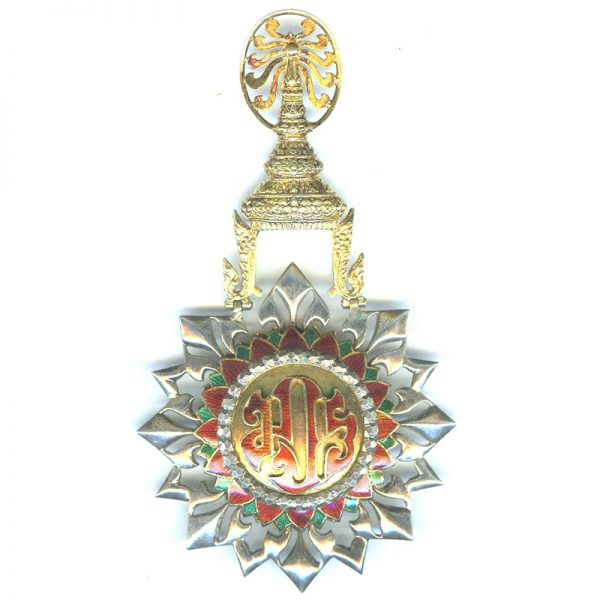 Order of the White Elephant 2nd type Grand Cross sash badge and... 2