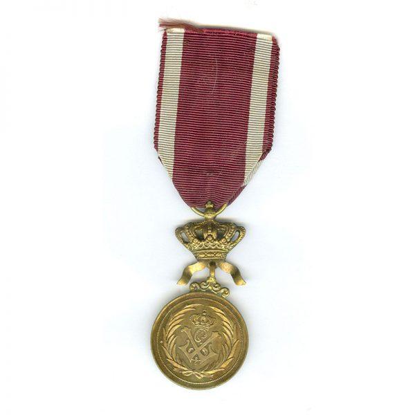 Order of the Crown Merit medal 1st class gilt (L18727)  N.E.F. £45 2