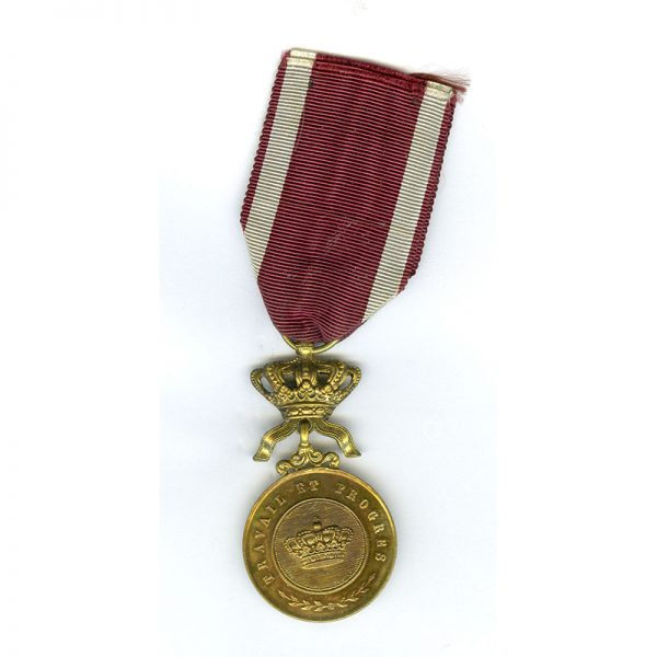 Order of the Crown Merit medal 1st class gilt 	(L18727)  N.E.F. £45 1