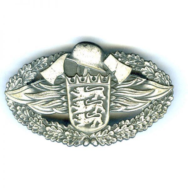 Baden-Weurtemburg Fire Brigade acheivement decoration pin back badge by Cadi Pforzheim... 1