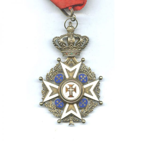 Order of Christ  Commander Military 1