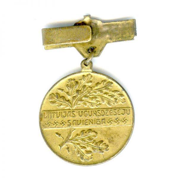 Fire Brigade Medal 1921-1931(n.r)(L20783) V.F. 2