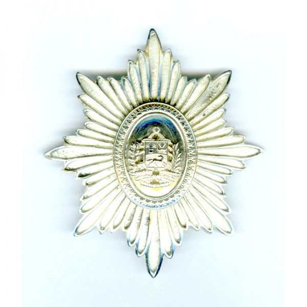 Order of the Bust of Bolivar 2nd class breast star good quality... 1