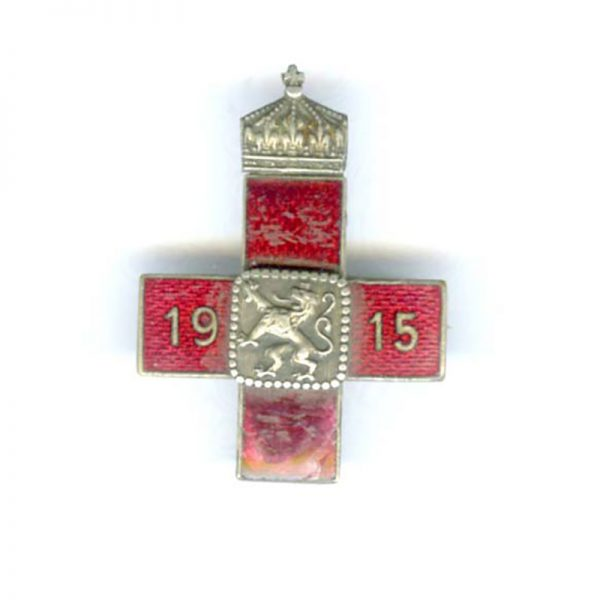Red Cross Badge  1915 for W.W.I 1